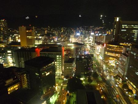 ④ 神戸市役所からの夜景