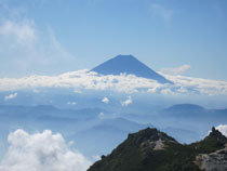 ⑫富士山3,776m