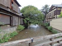 ⑥白川沿いの祇園