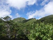 ④空木岳の全貌