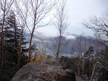 ⑭落葉と中禅寺湖
