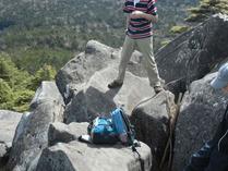 ⑤高見石の岩