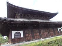③建仁寺の法堂