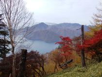 ⑩中禅寺湖と紅葉