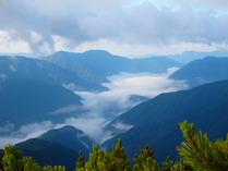 ⑫眼下の雲海