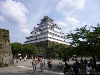 会津・鶴ヶ城