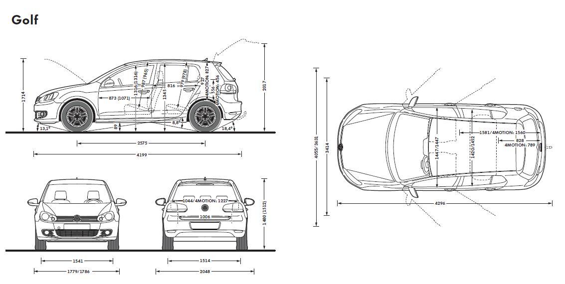 気になる車 : VW UKのHPでゴルフを覗いてみた