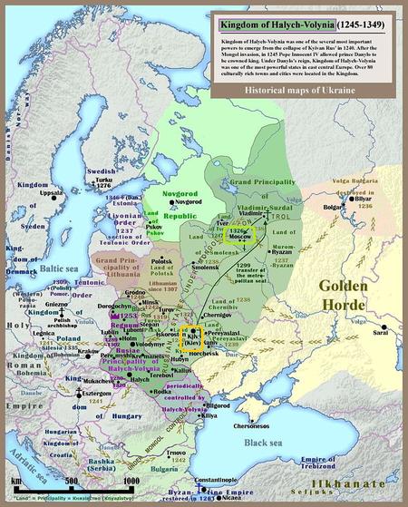 2キエフ公国_モンゴル支配下