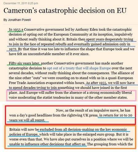 Cameron's catastrophic decision on EU