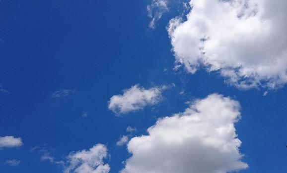 ビックリ青空