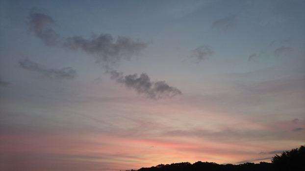 9/27の朝の空 5:20