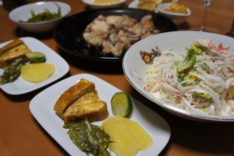 晩ご飯和食3-3