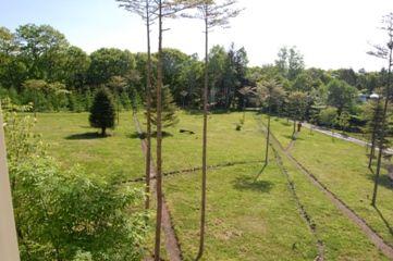 今日の草津温泉は…草原・きのこ園