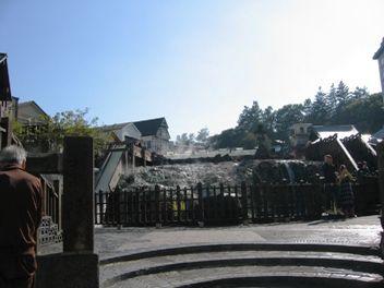 今日の草津温泉は・・・紅葉が逃げます