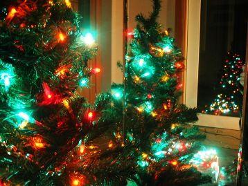 今日の草津温泉丘の上のホテルは・・・クリスマス色