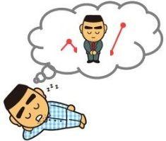 睡眠中に上昇