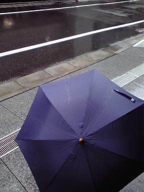 20090930雨の銀座3丁目