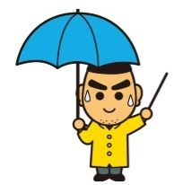 雨中での解説