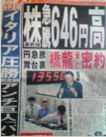 1998年6月19日ドル円