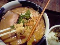 20091217赤味噌とんこつラーメン
