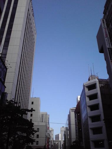 20090914朝の銀座