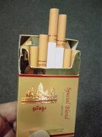 カンボジアのタバコ