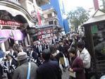 歌舞伎座前練り歩き