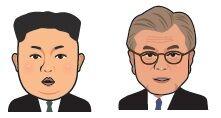 朝鮮半島各首脳