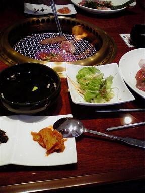 20091204焼き肉ランチ1050円