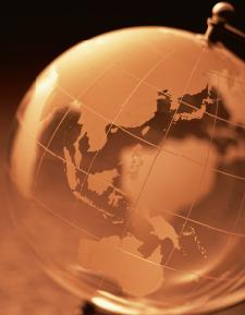 オーストラリア地球儀