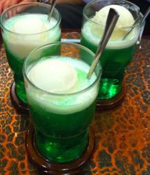 クリームソーダ3杯