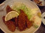 20100118カキフライ定食