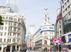 上海の町並み
