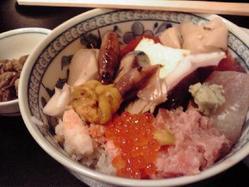 石松亭海鮮丼