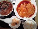 20100120天津飯定食