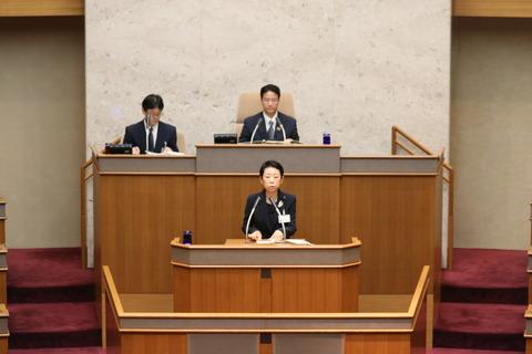副議長としての写真