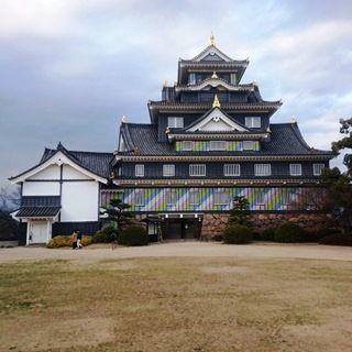 岡山城 ポップDSC_0246