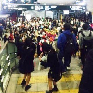 岡山 駅前 ハロウィン