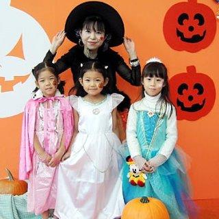 ハロウィン 子供と