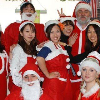 クリスマス イオンモール岡山 サンタ 00 staffs ss