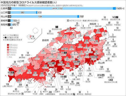 中国地方感染0629