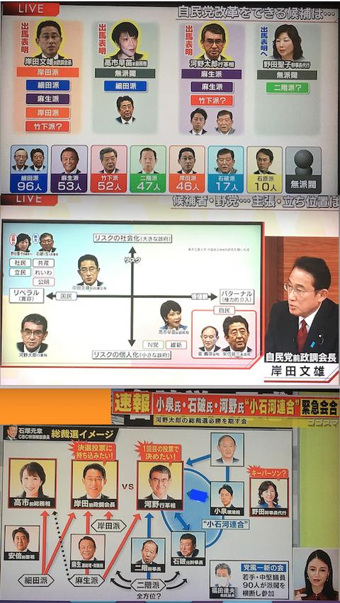 自民党総裁選へ00