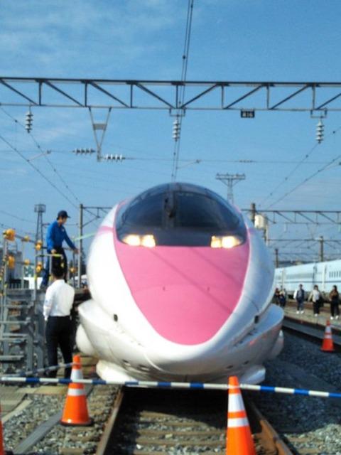 ハローキティ新幹線 岡山