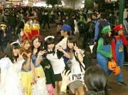 岡山駅前 ハロウィン 2016