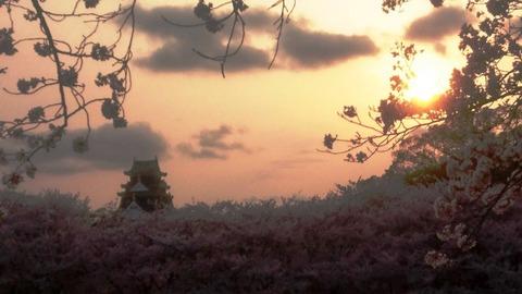 岡山 夕日 さくらDSC_0464 - コピー