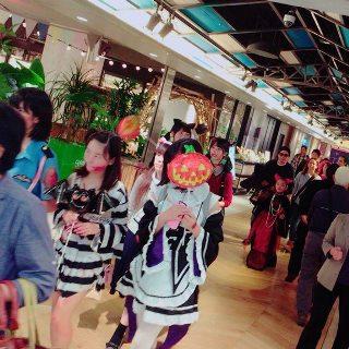 岡山 ハロウィン パレード 2016 aabb