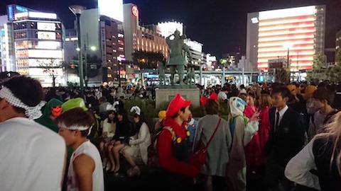 岡山駅前 ハロウィン