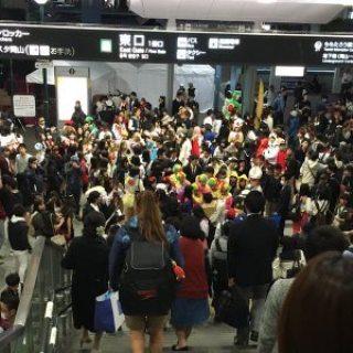 JR岡山駅 ハロウィーン1031 L