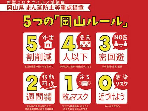 岡山 5つのルール