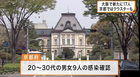 京都 感染0705